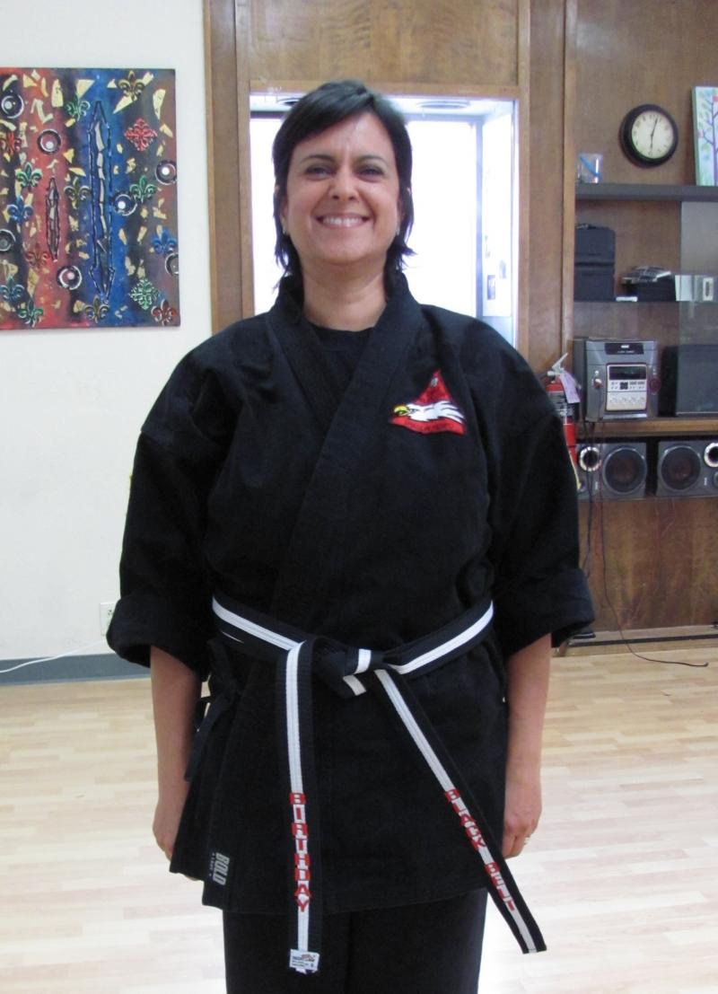Parisa's Birthday Black Belt class