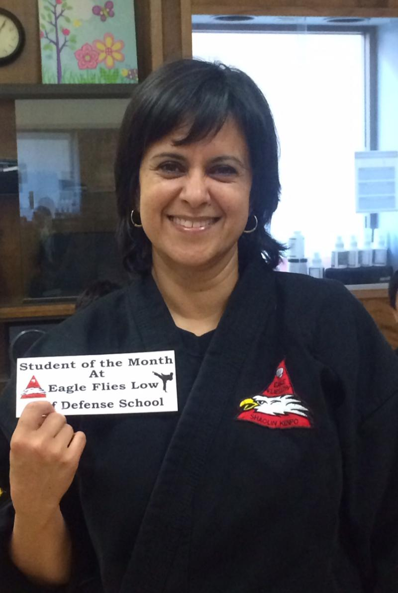 Parisa August 2014 Student of the month