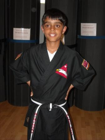 Rohan's Birthday Black Belt Class for 2013