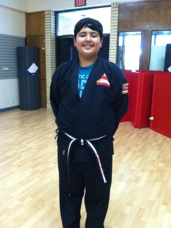 Shayan's Birthday Black Belt class for 2013