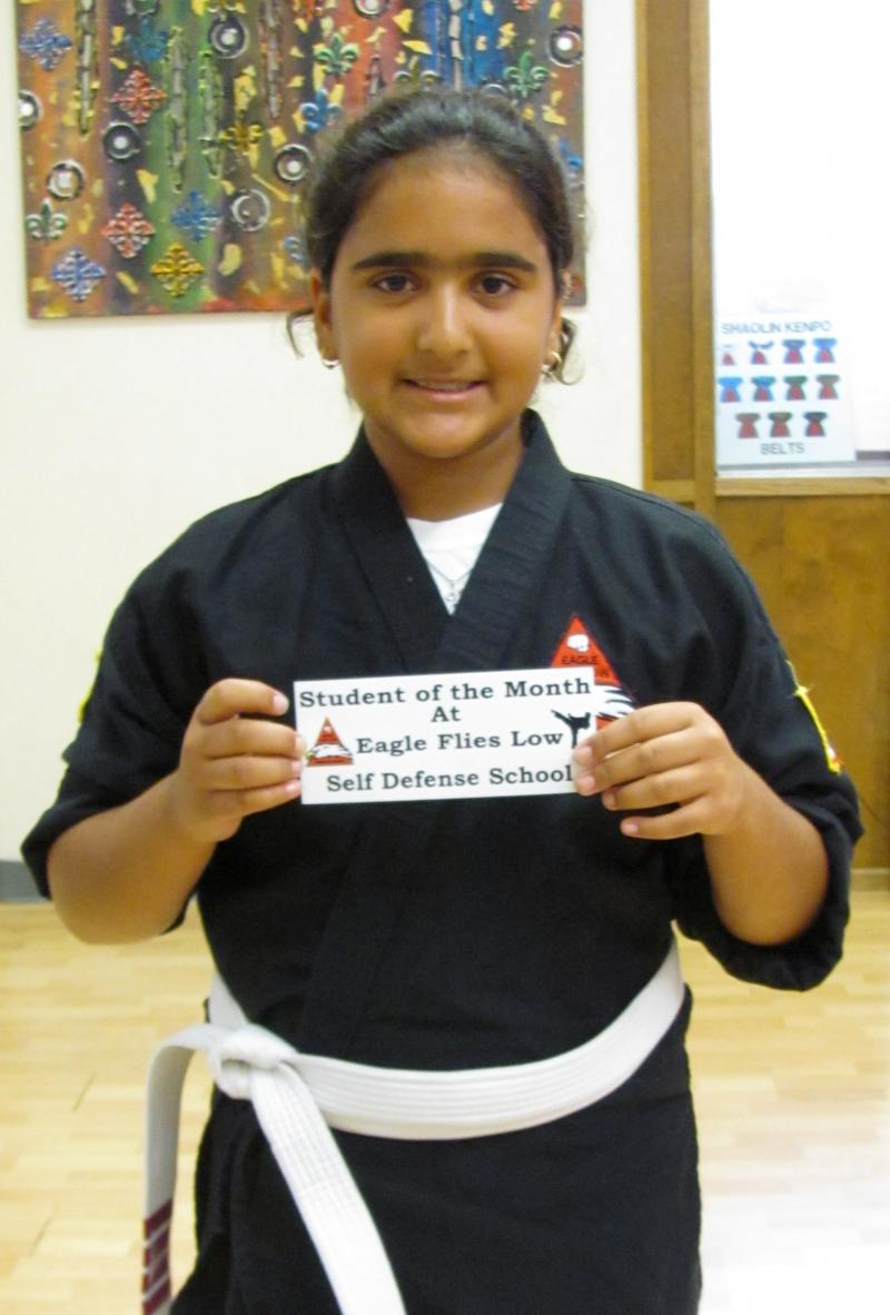 Student of the Month Tallah July 2014